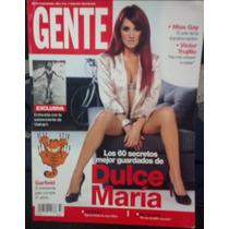 Revista Gente Con Dulce Maria De Rebelde Rbd,sus 50 Secretos