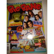 Revista Big Bang #5 Rbd - Volcanes Explosivos Lbf