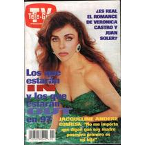 Veronica Castro En Portada De La Revista Teleguia 1997