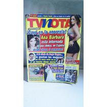 Revista Tv Notas Ana Barbara Sherlyn Sugey Abrego