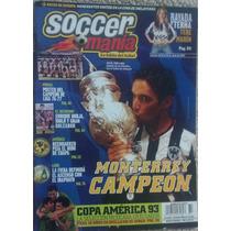 Revista Soccermania Con Monterrey Rayados Campeon, Español