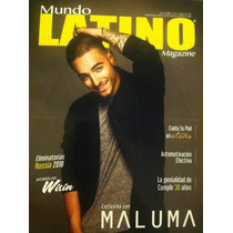 Maluma Revista Mundo Latino Usa