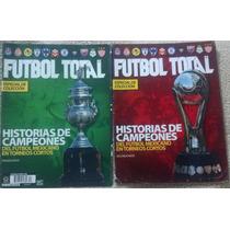 Dos Revistas Futbol Total, Campeones, Pumas, Amercia,español