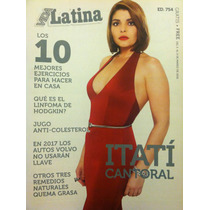 Itati Cantoral Revista Vida Latina