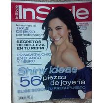 Revista Instyle Con Martha Higareda, En Español.