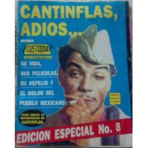 Revista Custodia Con Cantinflas Su Vida, Muerte, En Español.