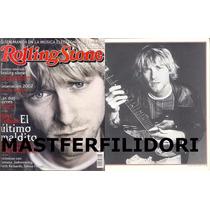 Kurt Cobain Nirvana Revista Rolling Stone Mexico #2 2002