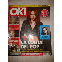 Revista Ok Miley Cyrus La Lolita Del Pop Fn4