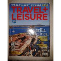 Revista Travel + Leisure A La Orilla Del Cielo Inca Fn4
