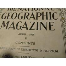 Antiguo Ejemplar De La Revista National Geographic De 1928