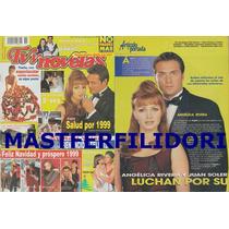 Thalia Angelica Rivera Juan Soler Revista Tvynovelas 1998