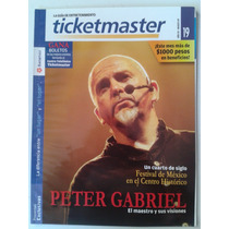 Revista Ticket Master 19 Peter Gabriel Fn4