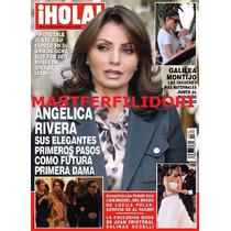 Angelica Rivera Revista Hola De Octubre 2012