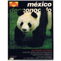 Revista México Desconocido Ha Nacido Un Panda 1981 #59