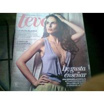 Ana Serradilla En Revista Teve De Julio Del 2012