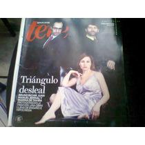 Bruno Bichir,juan Bernal Y Mariana De Tavira En Revista Teve