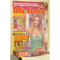 Ingrid Coronado Portada, Revista Mi Guia 2005.