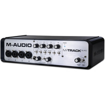 M-audio M-track Quad Interface Profesional 24 Bits Protools