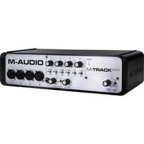 Interface De Audio M-audio M-track Quad Usb/midi Vv4