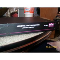 Distribuidor De Audio Modelo K8-ai8 Hecho En Alemania