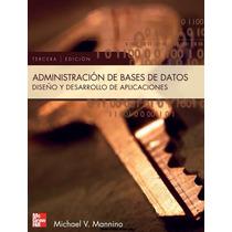 Administración De Bases De Datos, Diseño Y Aplicaciones Pdf