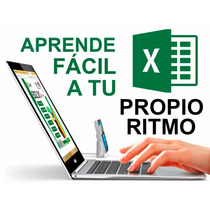 Curso De Excel Basico Y Avanzado 2007, 2010 Y 2013