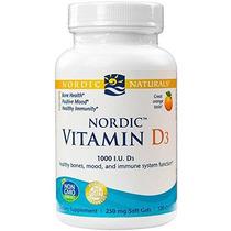 Naturals Nórdicos - Vitamina D3 Nórdica De Función Inmune Sa