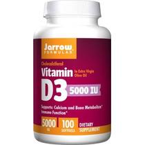 Jarrow Formulas Vitamina D3 Soporta El Calcio Y El Metabolis