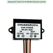 Convertidor De Voltaje Dc 12/24vdc A 5vdc 10a 50w