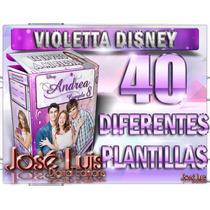 Mega Kit Imprimible 100% Editable Violetta Disney Jose Luis