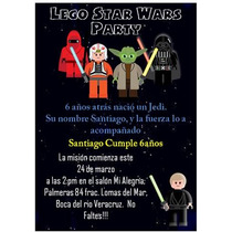 Lego Star Wars Kit Imprimible Para Tu Fiesta Mmu