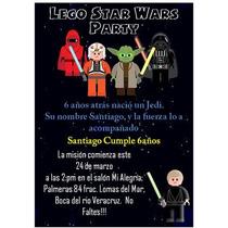 Lego Star Wars Kit Imprimible Para Tu Fiesta Mmu