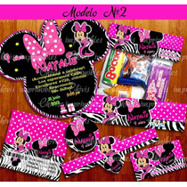 Kit Imprimible Minnie Mouse Mimi 2x1