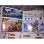 12 Invitaciones Comic Minions Tipo Historieta Nuevas!
