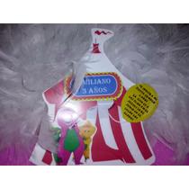 12 Invitacion, Carpa De Circo Y Tu Personaje Favorito,barney