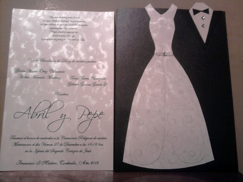 Invitaciones originales interactivas boda bautizo aos - Tarjetas de invitacion de boda originales ...