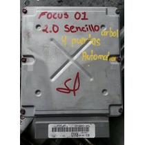 Computadora 2001 Ford Focus Motor 2.0 Arbol Sencillo Auto