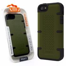 Funda Case Iphone 5th Gen Absorcion Golpes + Mica