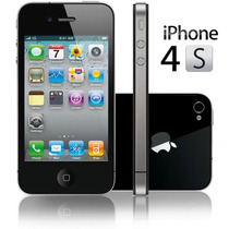 Apple Iphone 4s 16gb Libre De Fabrica Blanco Y Negro