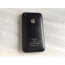 Iphone 3g De 32gb Bloqueado, Usado En Color Negro