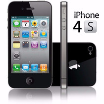 Smartphone Apple Iphone 4s Negro 8gb+portector + Batería P