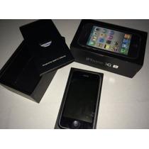 Iphone 3gs De 8gb Con Caja, Mica Y Funda Ferrari Y Mophie