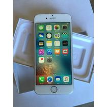Iphone 6 64gb Plata Impecable Apple Desbloqueado Imei Caja
