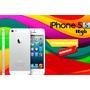 Iphone 5s 16gb Blanco Con Accesorios Liberado Envio Gratis
