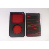 Protector Belkin Silicon Negro Con Rojo Case Ipod Clasico