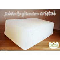 Jabón De Glicerina Cristal Y Blanco Por Mayoreo