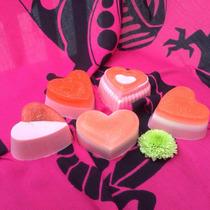 Regalos San Valentín, 5 Jabones Terapéuticos De Glicerina
