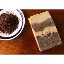 Jabón Exfoliante De Café Artesanal Y Natural