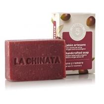 Jabón Artesano Antioxidante Uva Romero La Chinata