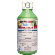 Nutri Humus Fertilizante Organico Acidos Humicos+fulvicos1lt